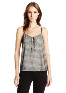 GUESS Women's Sleeveless Leona Tassel Camisole  XS
