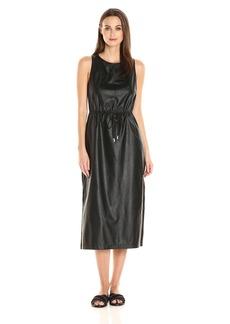 Guess Women's Sleeveless Levin Sport Column Dress  L