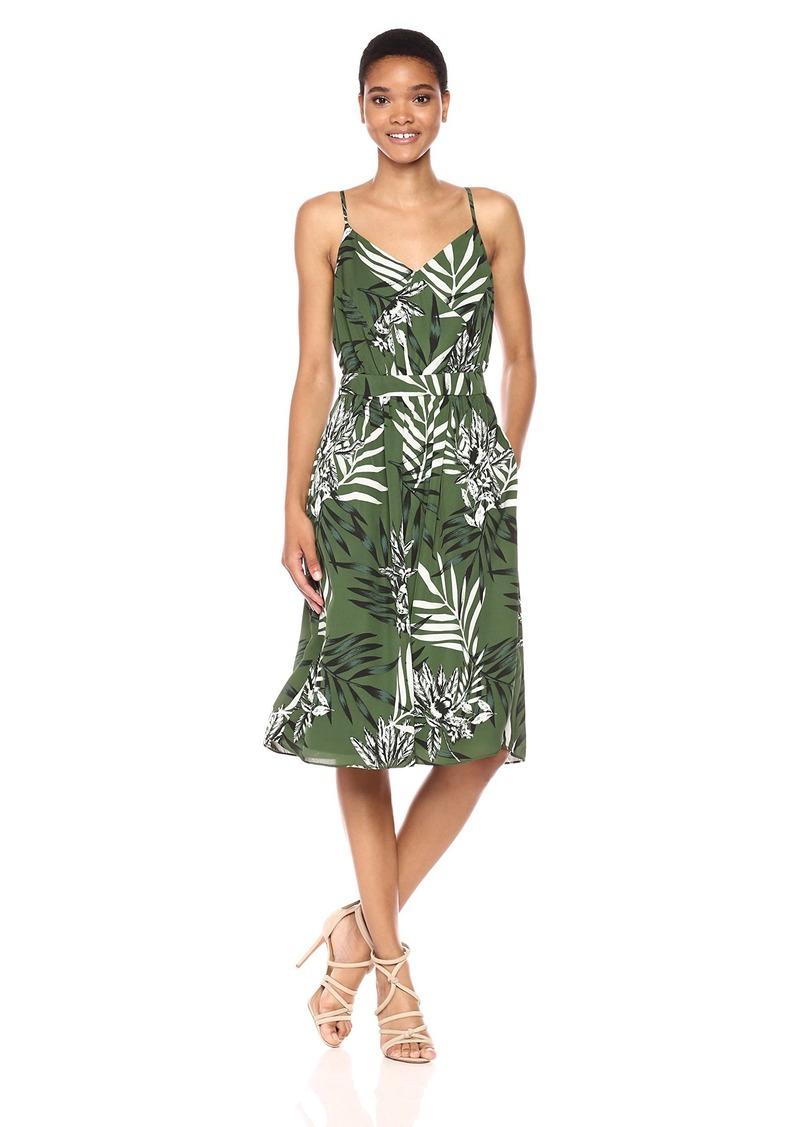GUESS Women's Sleeveless Luce Printed Dress  L