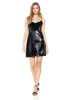GUESS Women's Sleeveless Marika Velvet Dress  S