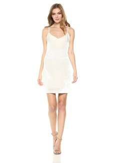 Guess Women's Sleeveless Marika Velvet Dress  XS