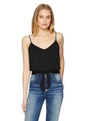 GUESS Women's Sleeveless MASU TIE Front TOP  a XL