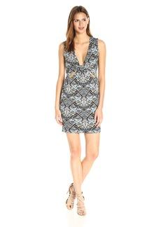 Guess Women's Sleeveless Maze Cut Out Dress