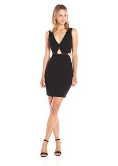 GUESS Women's Sleeveless MYA Cut Out Dress  a