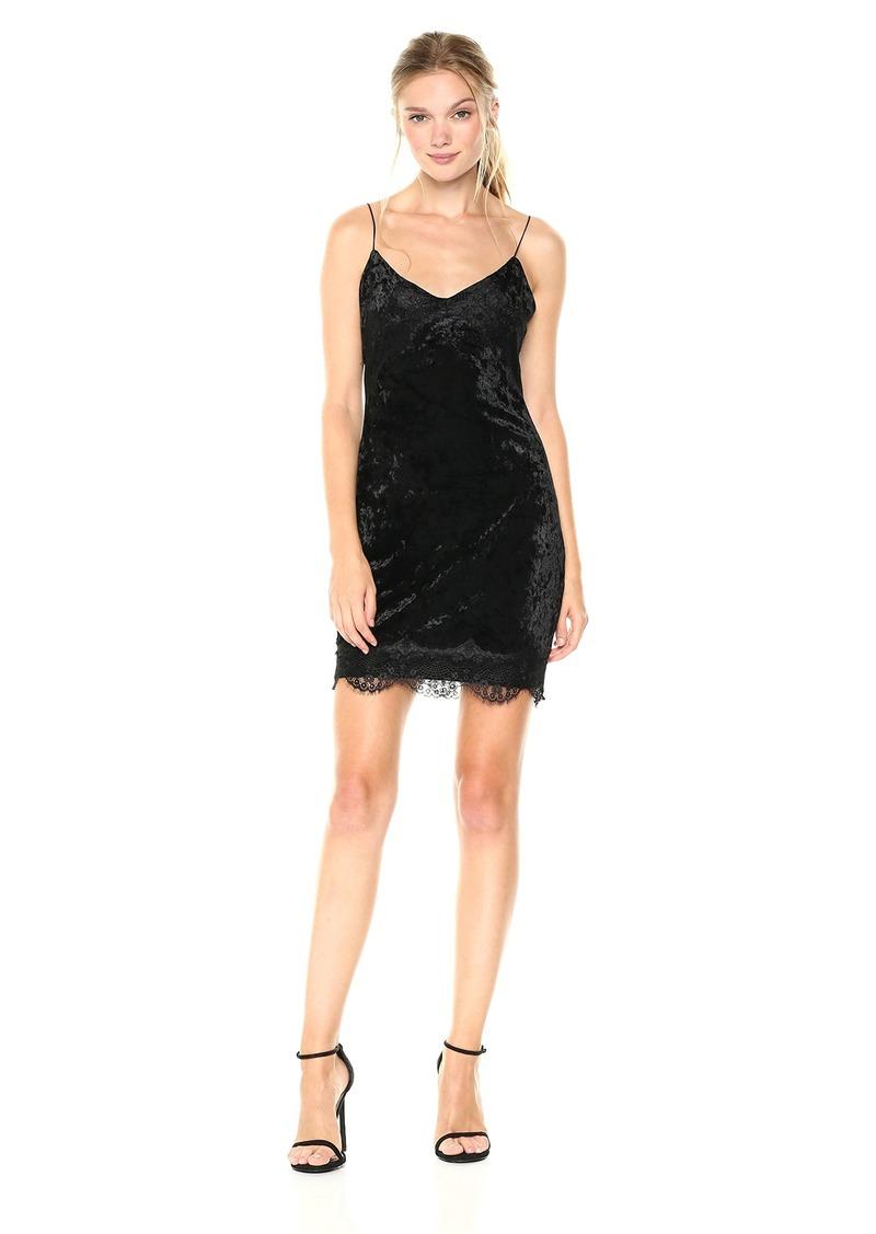 GUESS Women's Sleeveless Nada Velvet Dress  a