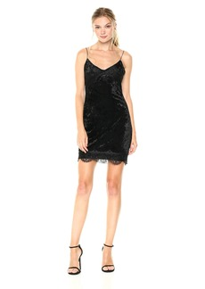 GUESS Women's Sleeveless Nada Velvet Dress
