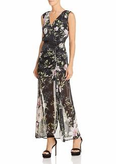 GUESS Women's Sleeveless Nadira Maxi Dress  L