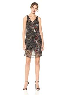 GUESS Women's Sleeveless Odessa Slip Dress