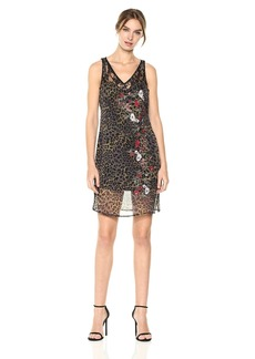 GUESS Women's Sleeveless Odessa Slip Dress