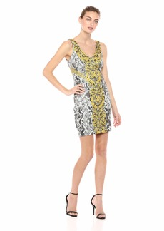 GUESS Women's Sleeveless Rae Dress  M