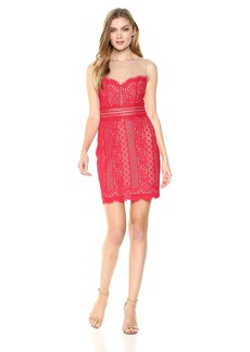 GUESS Women's Sleeveless Savannah Lace Dress
