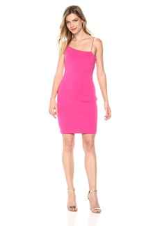 Guess Women's Sleeveless Shoulder Jenny Dress Dress -berry tango L