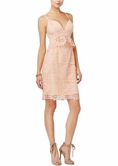 GUESS Women's Sleeveless Solstice Lace Dress