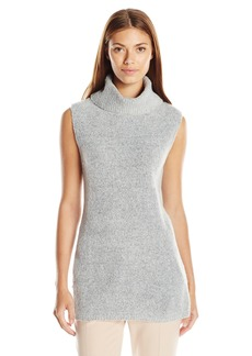 GUESS Women's Sleeveless Turtleneck Sweater  S