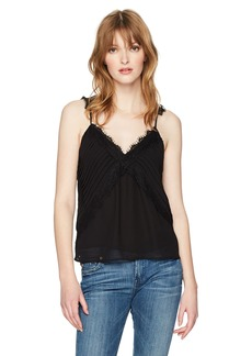 GUESS Women's Sleeveless Whitley Cami  L