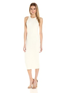 Guess Women's Sleevless Lane Variegated Ribbed Dress  M R