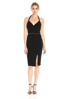 GUESS Women's Slinky Jersey Dress with Belt