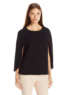 Guess Women's Three Quarter Slv Annette Cape Top  XL