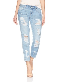 Guess Women's Utility It Girl Jean Light wash