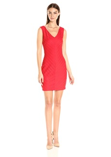 GUESS Women's V-Neck Dress