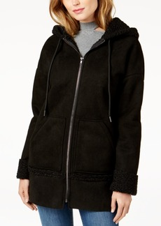 Guess Yesmin Faux-Fur-Lined Hooded Coat