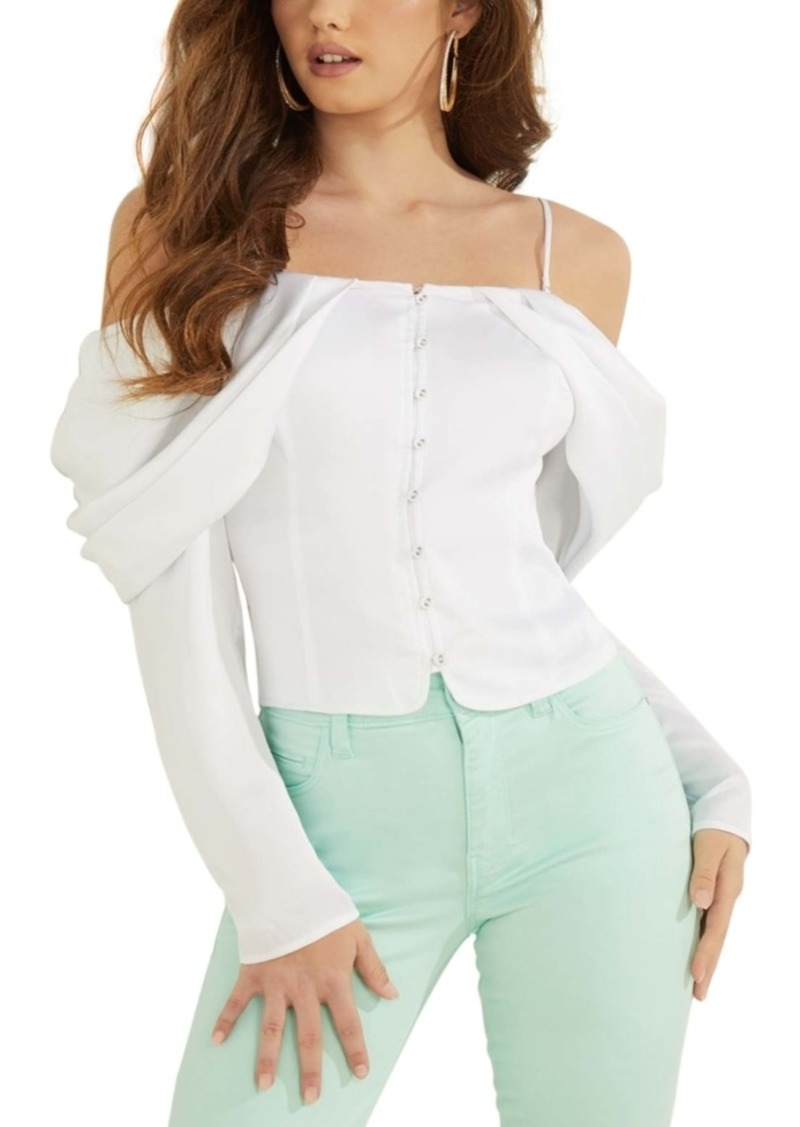 Guess Yessica Off-The-Shoulder Blouse