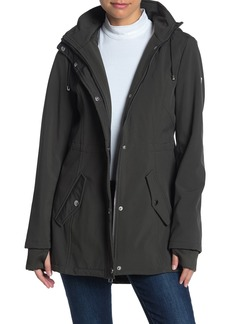 GUESS Hooded Extended Cuff Jacket