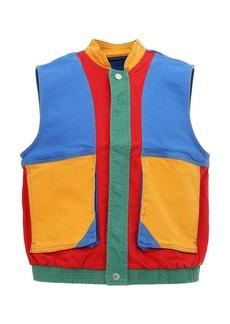 GUESS J Blvn Cotton Blend Vest