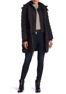GUESS Knit Bib Walker Jacket
