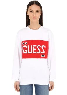 GUESS Logo Crewneck Sweater