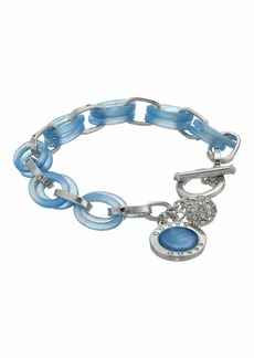 GUESS Lucite Links Toggle Bracelet with Charms
