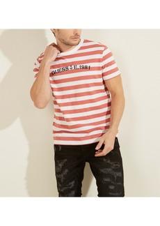 GUESS Men's Nautical Striped Tee