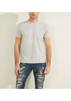 GUESS Men's Sueded Jersey Tee