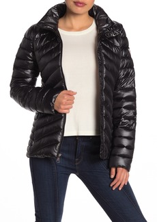 GUESS Packable Hooded Dickey Puffer Jacket