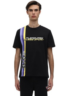 GUESS Pleasures Racing Printed Jersey T-shirt