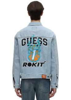 GUESS Rokit Basketball Denim Jacket