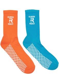 GUESS Rokit Cotton Blend Tube Socks