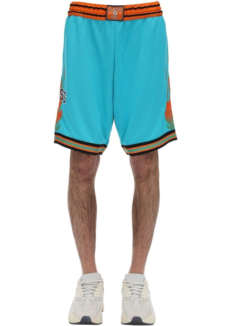 GUESS Rokit Tech Basketball Shorts