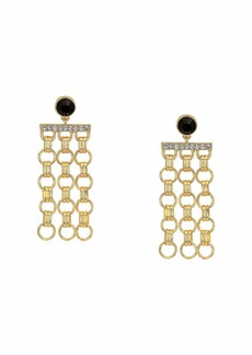 GUESS Rolo Chain Drop Earrings