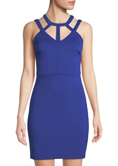 GUESS Selfie Sleeveless Body-Con Dress