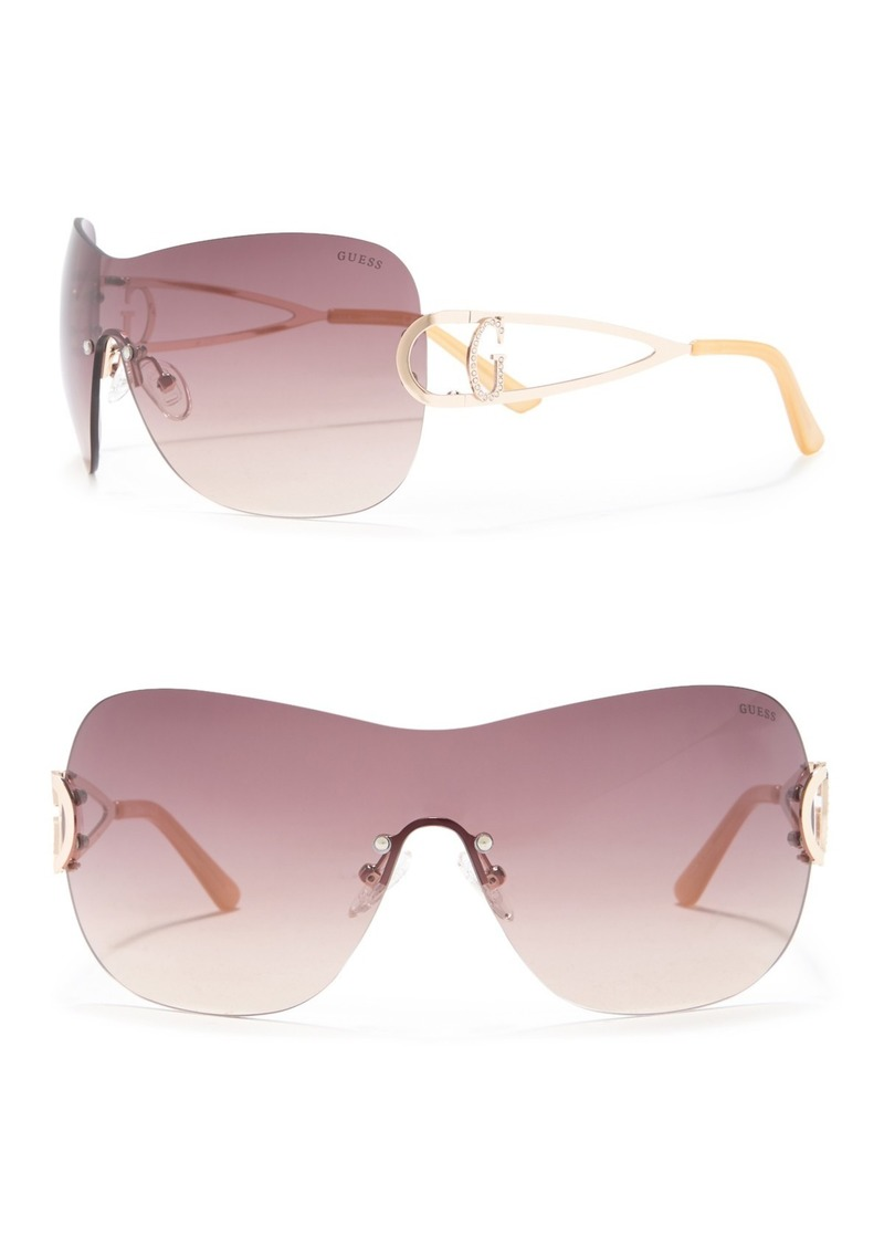 GUESS 135mm Shield Sunglasses
