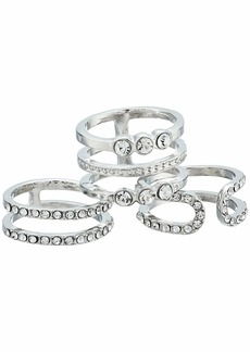 GUESS Six-Piece Dainty Stacker Ring