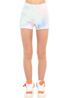 GUESS Tie Dye Cotton Shorts