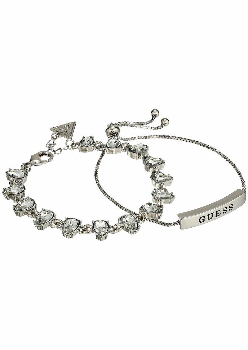 GUESS Two-Piece Bracelet Set