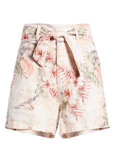 Women's Guess Brynn Linen Shorts
