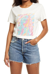 GUESS In a Bubble Jersey Graphic Tee