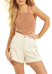 GUESS Metallic T-Back Camisole
