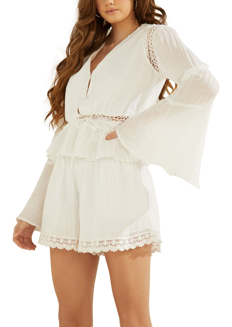 GUESS Remi Bell Sleeve Top