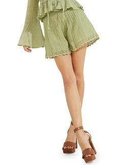 Women's Guess Remi Lace Trim Shorts