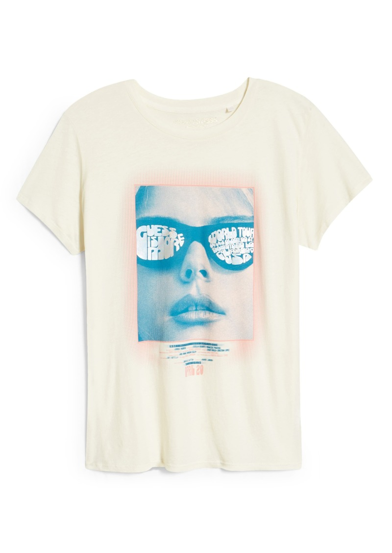 Women's Guess Sunglasses Graphic Tee